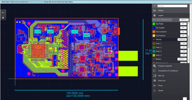 Schematic and PCB share