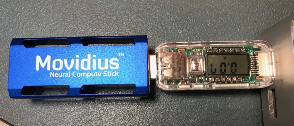 Movidius Neural Compute Stick power consumption in suspend